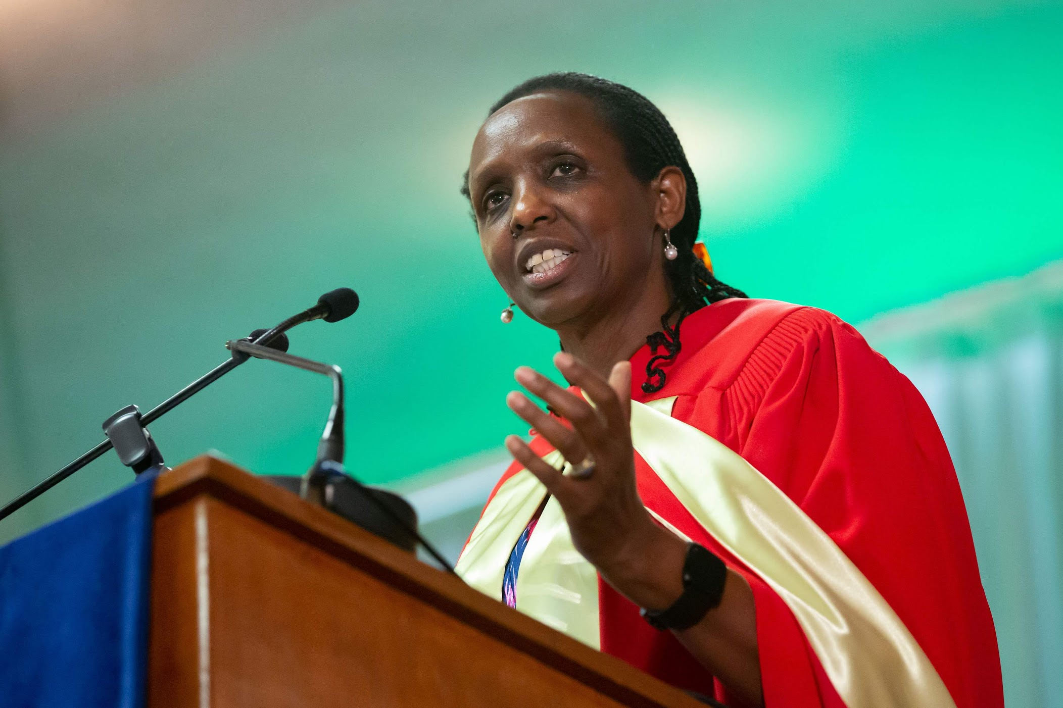 Dr. Agnes Kalibata Receives McGill University's Honorary Doctorate - AGRA