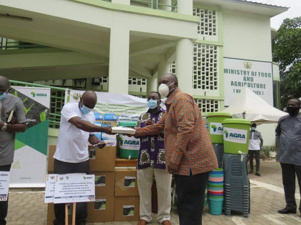 AGRA supports farmers to mitigate impact of COVID-19
